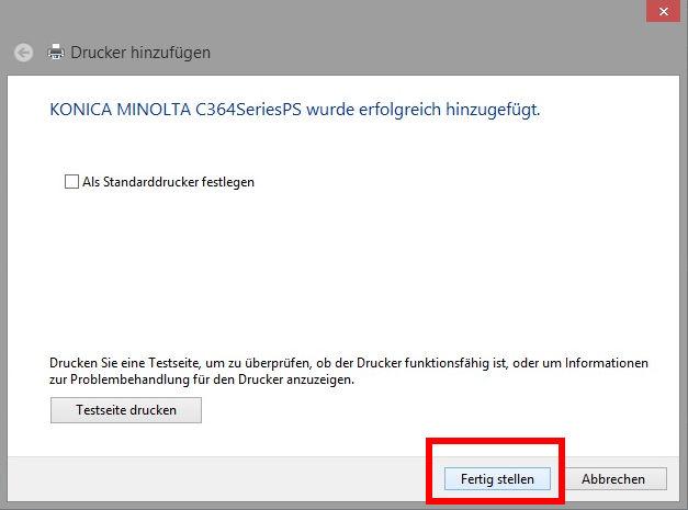 Anleitung für Windows 8 | BiblioCopy